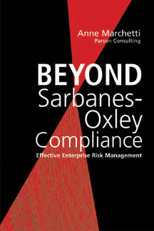 Beyond Sarbanes-Oxley Compliance Book Cover